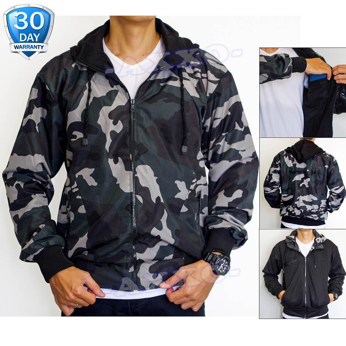 Toko Jaket Parasut Jaket Army Bolak Balik Jaket Pria Jaket Loreng Ax002 Lengkap