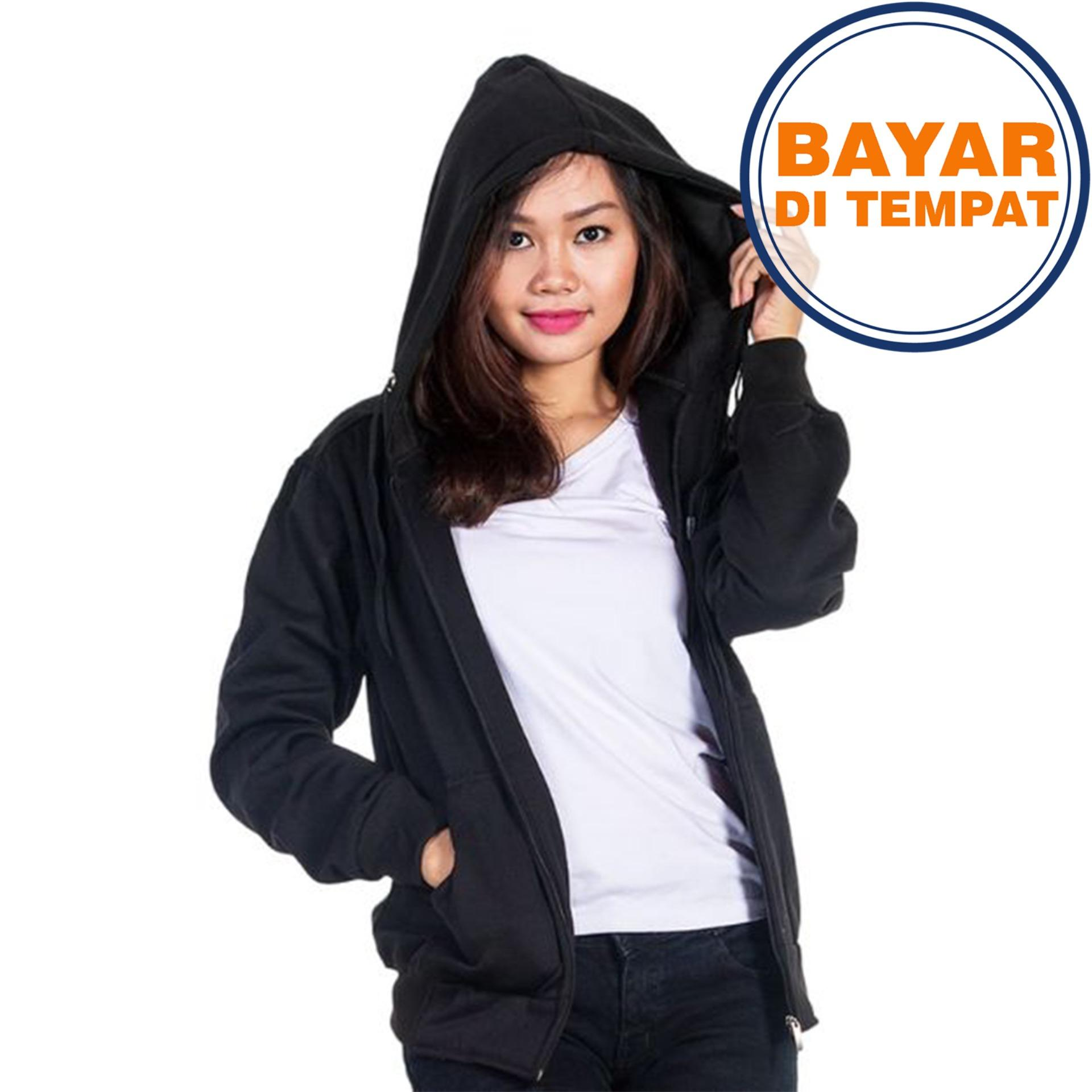 Jaket Sweater Polos Hoodie Zipper Unisex Best Seller baa7edcf5f