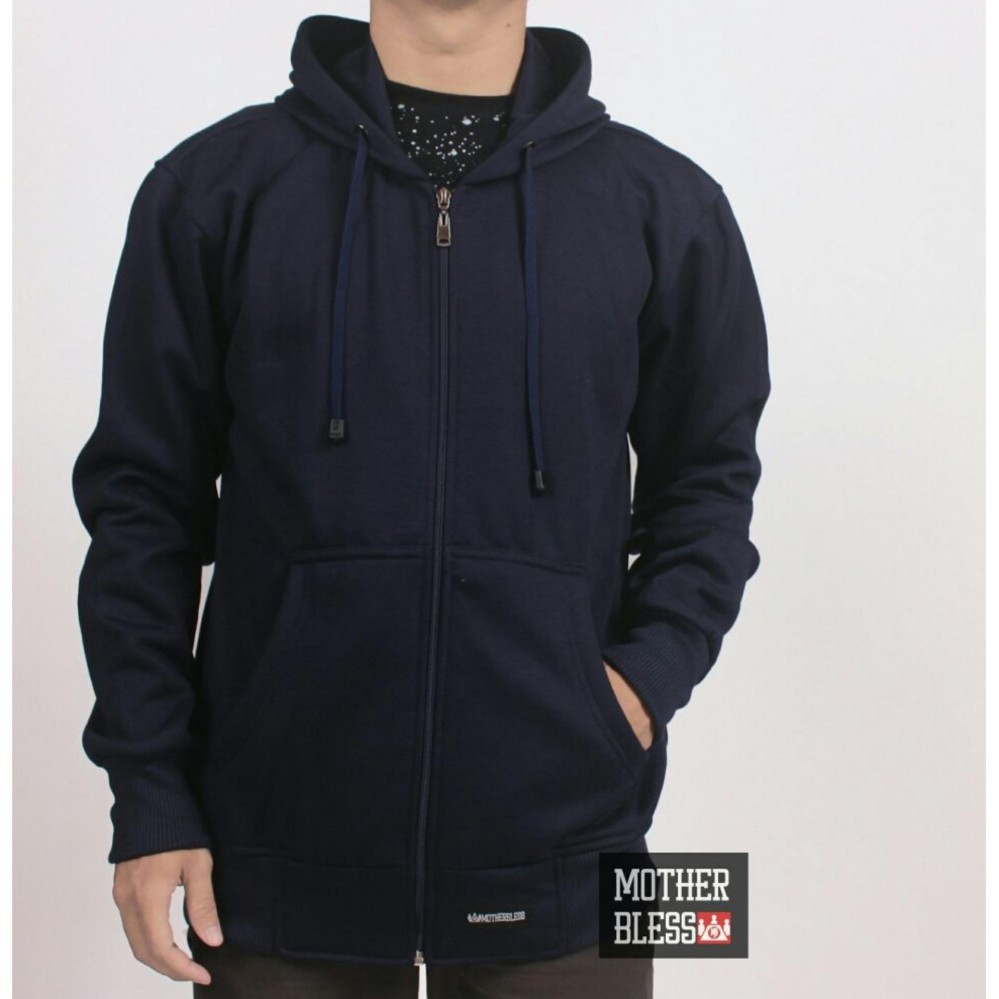 Jaket sweater pria / sweater polos / sweater murah / sweater hoodie / sweater distro