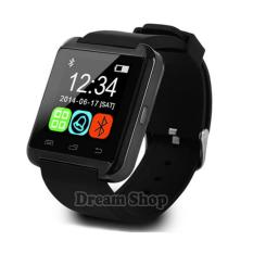 Jam Cowo Murah U8 Smartwatch Android Dan ios |  Jam Tangan Awet Terbaru Rubber Strap - Warna Hitam | Dream Shop