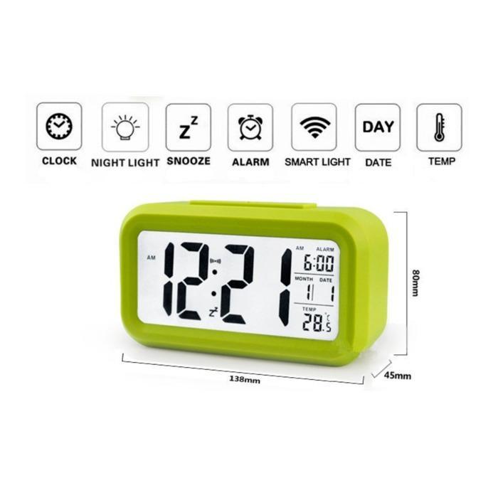 Jual Jam Meja Pintar Jam Weker Digital Desktop Smart Clock Jp9901 Murah