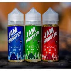 Jam Monster US Premium Liquid Rokok Elektrik 60 ML - Strawberry