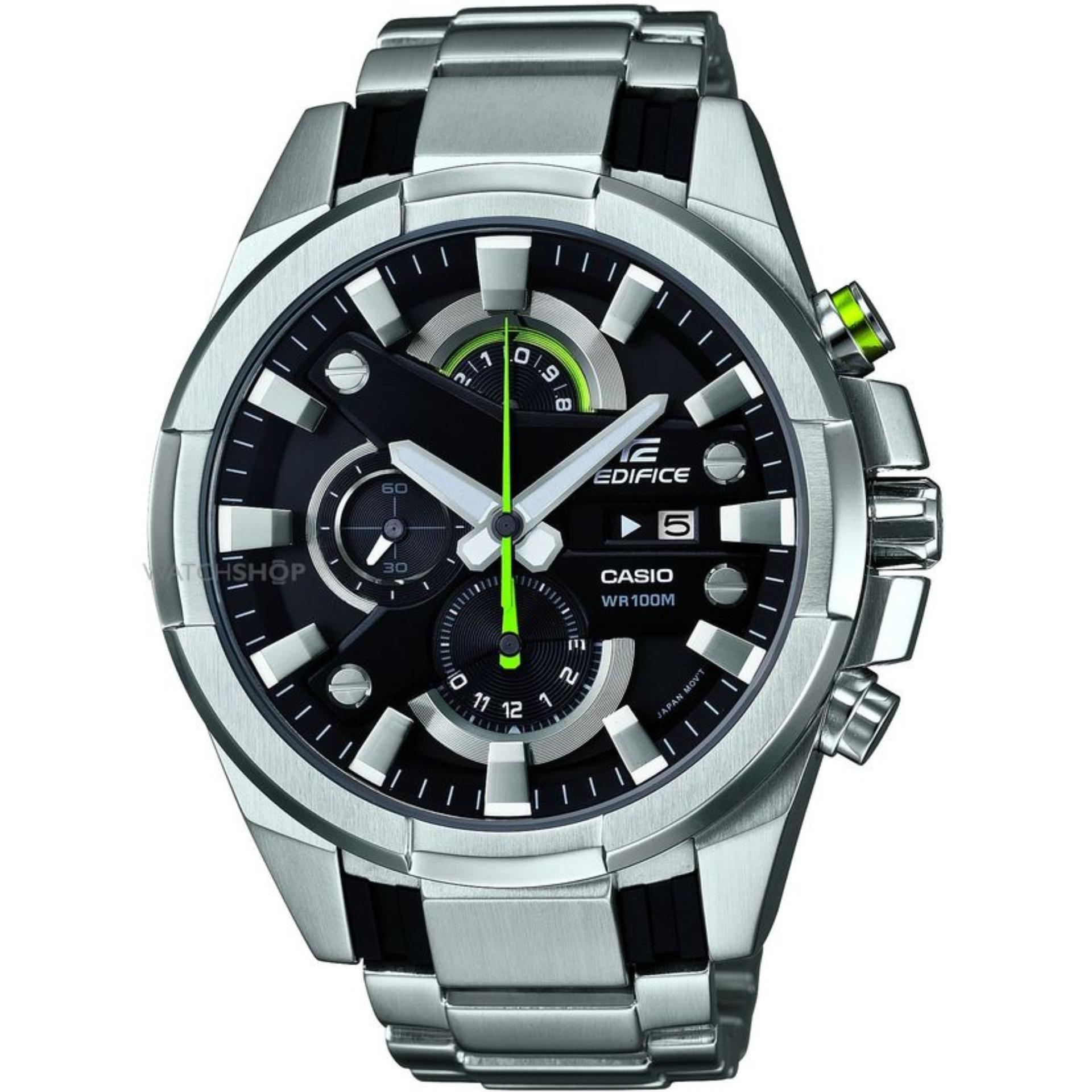 Jam Tangan Formal Pria - Casio Edifice EFR-540D-1AVUDF Silver ... 1a711f23c5