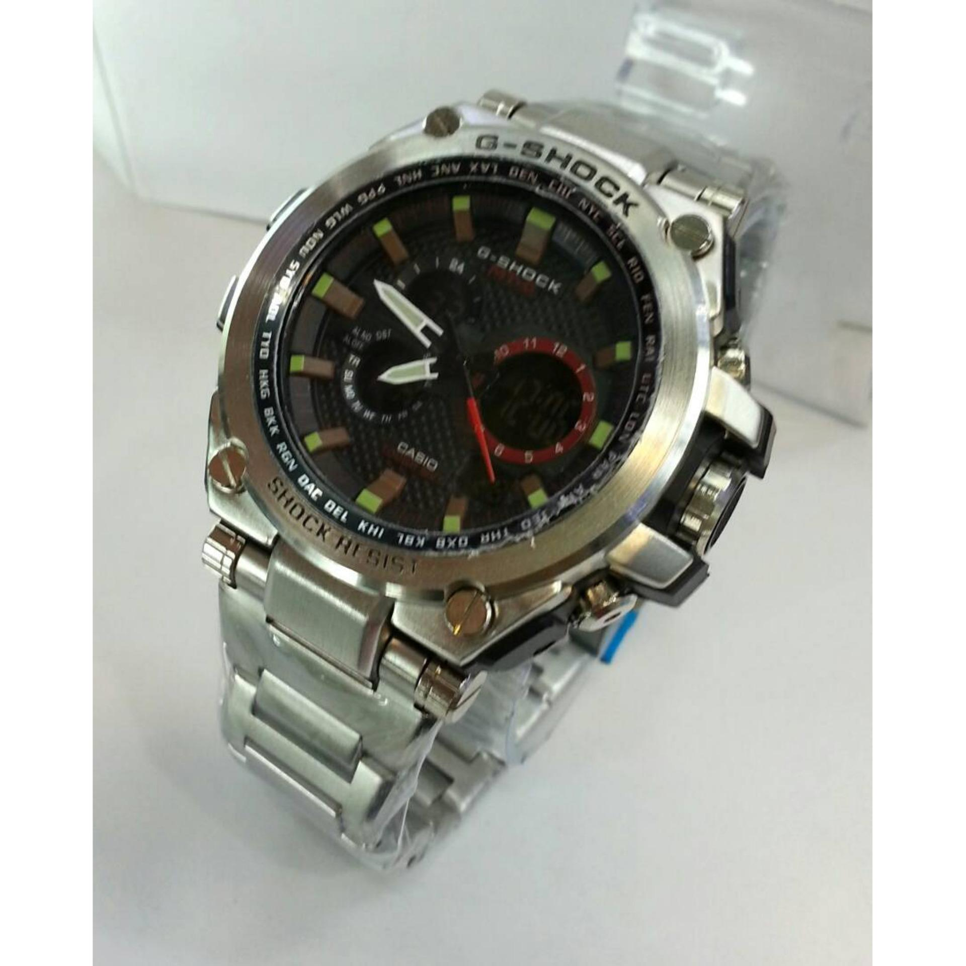 Swiss Army Triple Time Jam Tangan Pria Leather Strap Sa 4175 Fb Tanga Expedition 6631 Hitam Original 70604 Ad Source
