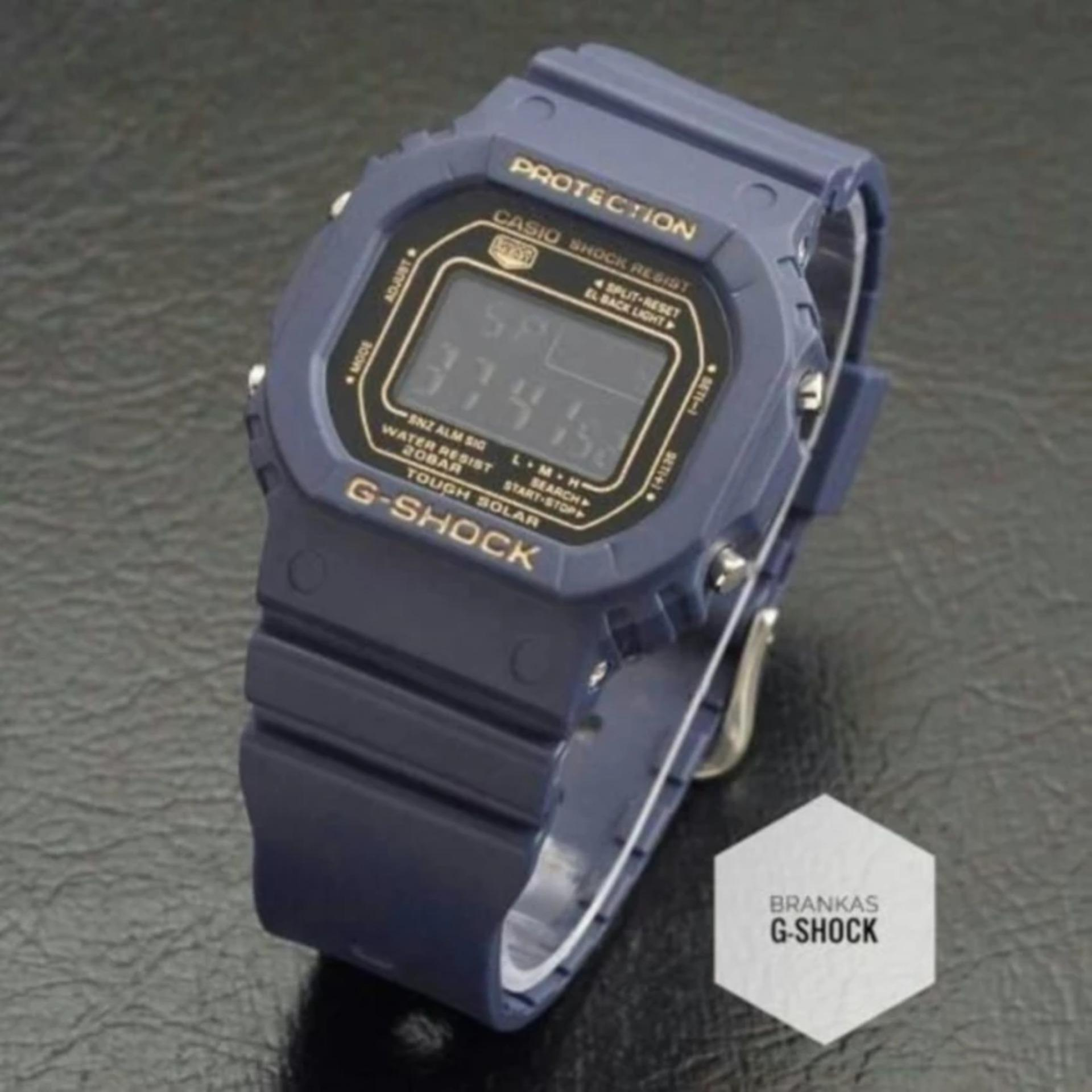 Cowok LED Source Jam Tangan Wanita G Shock W112 Double Time Super Daftar .