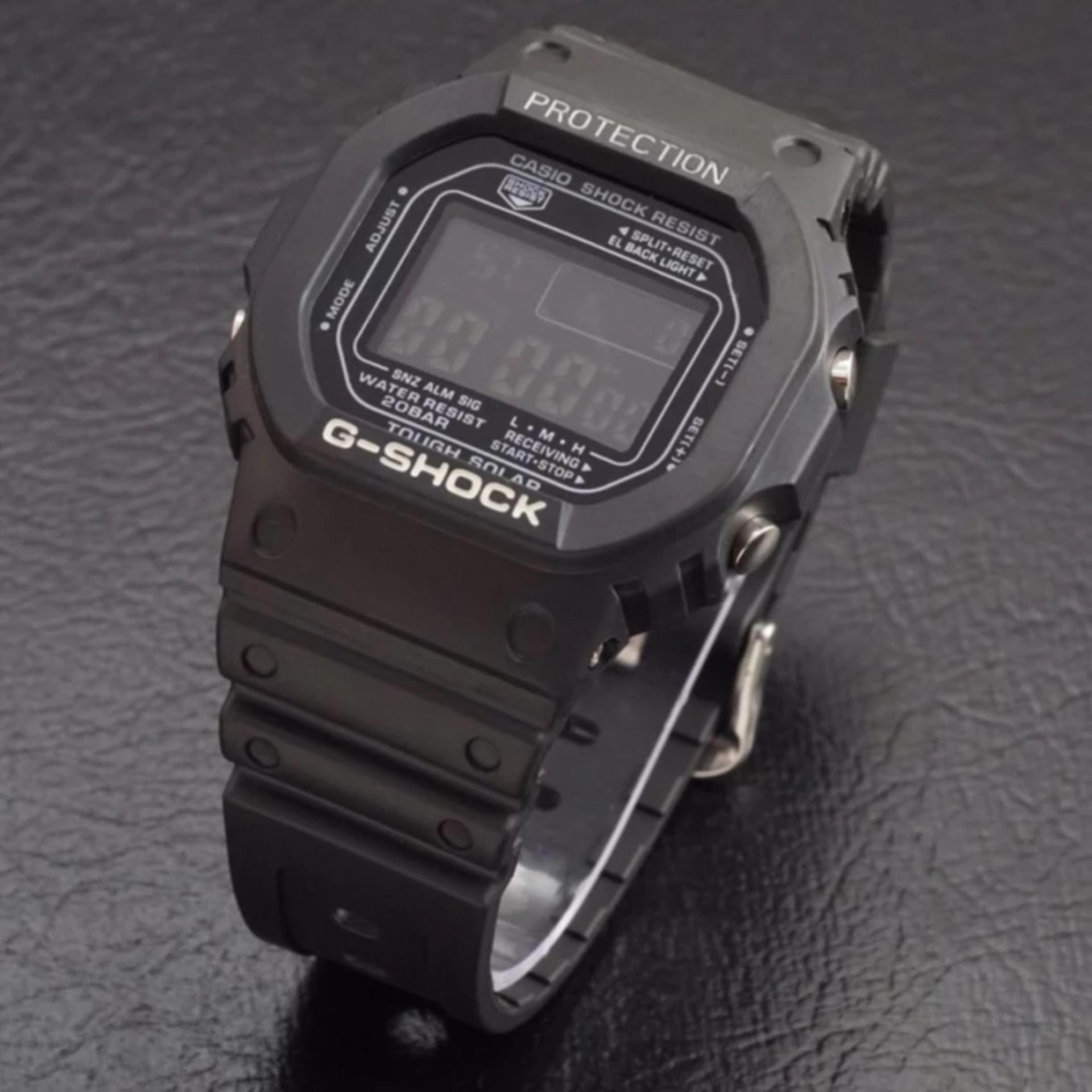 Casio Calculator Jam Tangan Pria Hitam Strap Karet Dbc 32 1a Beside Bem 109d 1avdf Stainless Steel Black Fashion
