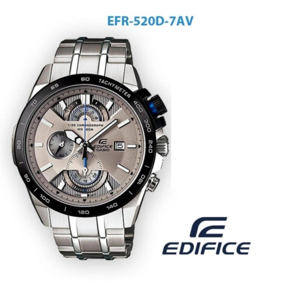 Jam Tangan Pria Formal Casio Edifice EFR 520D-7AV  6b49fe0fc2