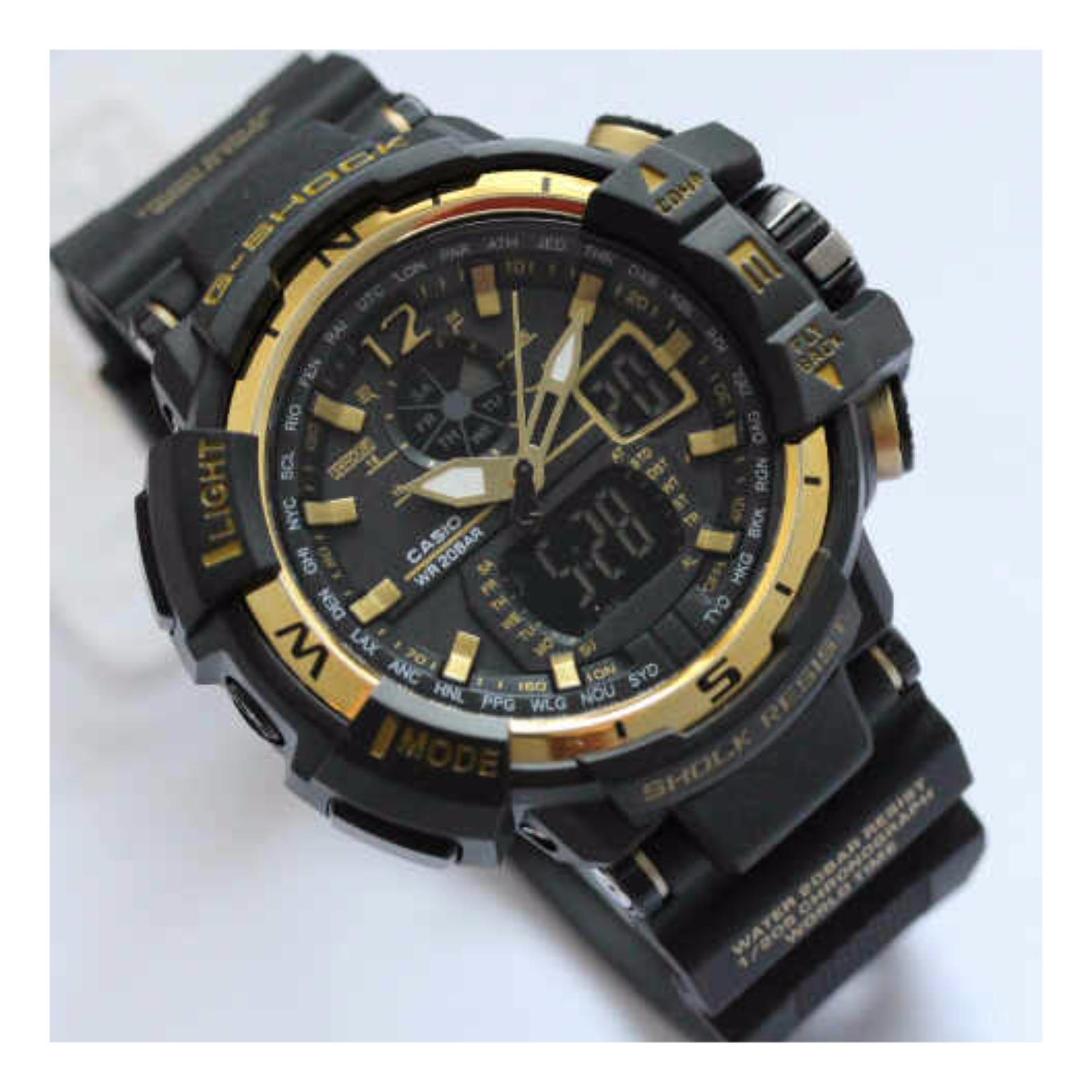 Jam tangan pria GWA 1100 double time