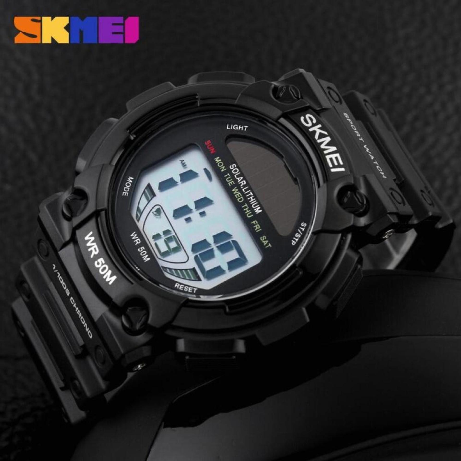 Skmei Casio Men Sport Led Watch Jam Tangan Water Resistant 50m Pria Ad1109 Dg1126 Hot