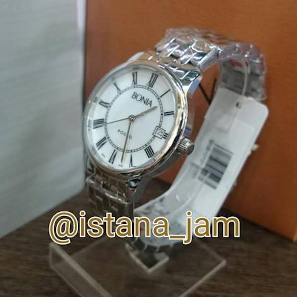Jam Tangan Wanita Bonia Rosso B10101 Silver Original