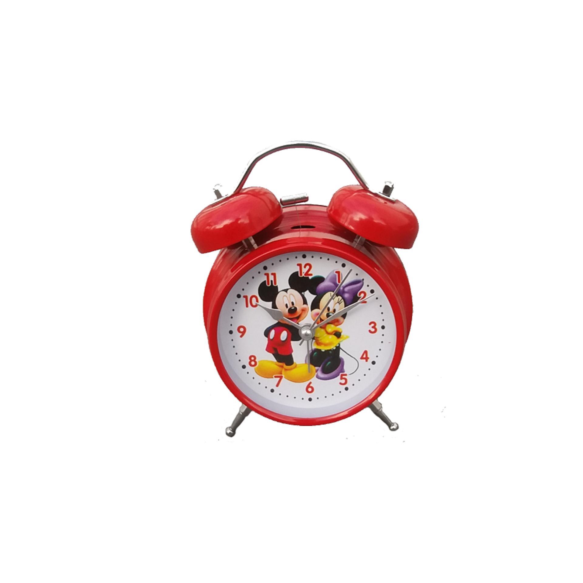 Diskon Jam Weker P 6040 Karakter Mikey Mouse Branded