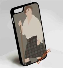 Jamie Fraser Outlander Phone Case PC Berkualitas Tinggi + Karet + Karet Cover untuk Apple IPhone 7-Intl