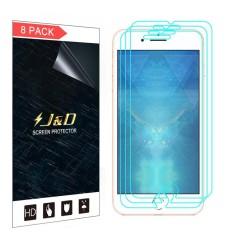 J & D [Tidak Penuh Cakupan] HD Bening Layar Pelindung untuk Apple iPhone 8 Plus-8 Bungkus -Internasional