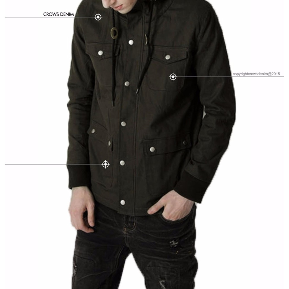 Jas Premium - Jual Jaket Parka Model Terbaru - Hijau Army