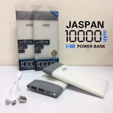 Spesifikasi Jaspan Power Bank Original Kapasitas 10 000Mah Slim Bergaransi Yg Baik