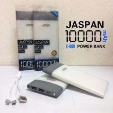 Jual Jaspan Power Bank Original Kapasitas 10 000Mah Slim Bergaransi Satu Set