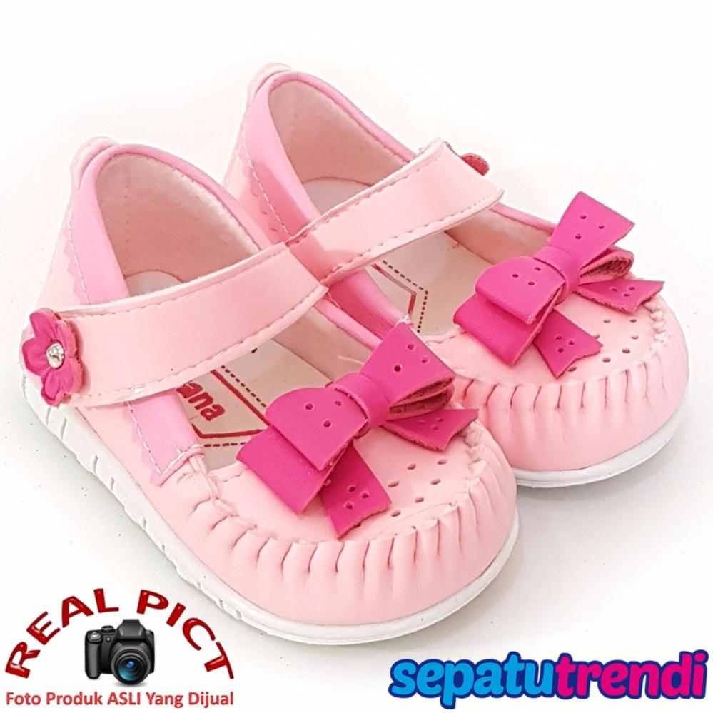 Javana Sepatu Anak Bayi Pita Fuchsia Cantik - Pink Fuchsia