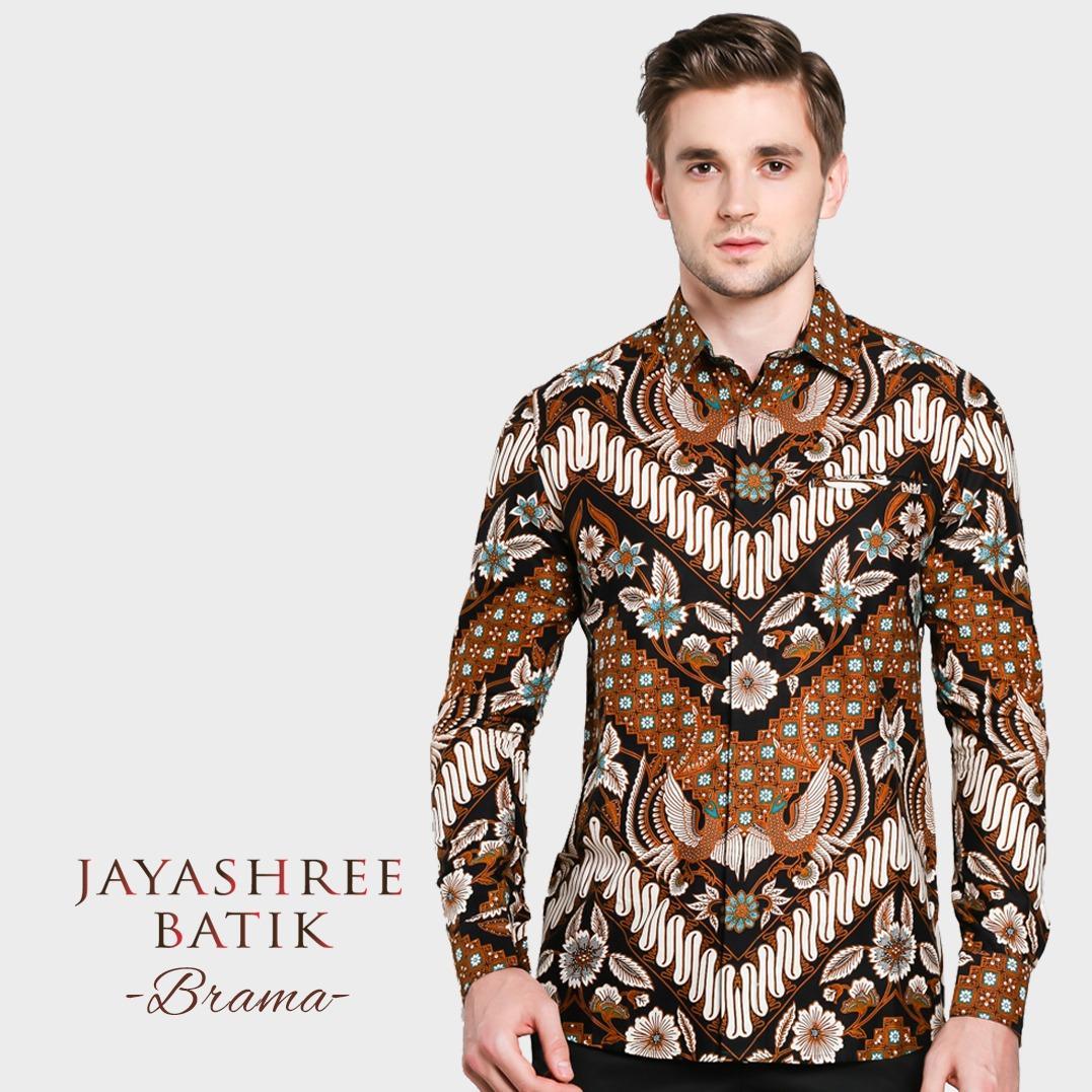 Spesifikasi Jayashree Batik Brama Slimfit Longsleeve Pria Yang Bagus Dan Murah