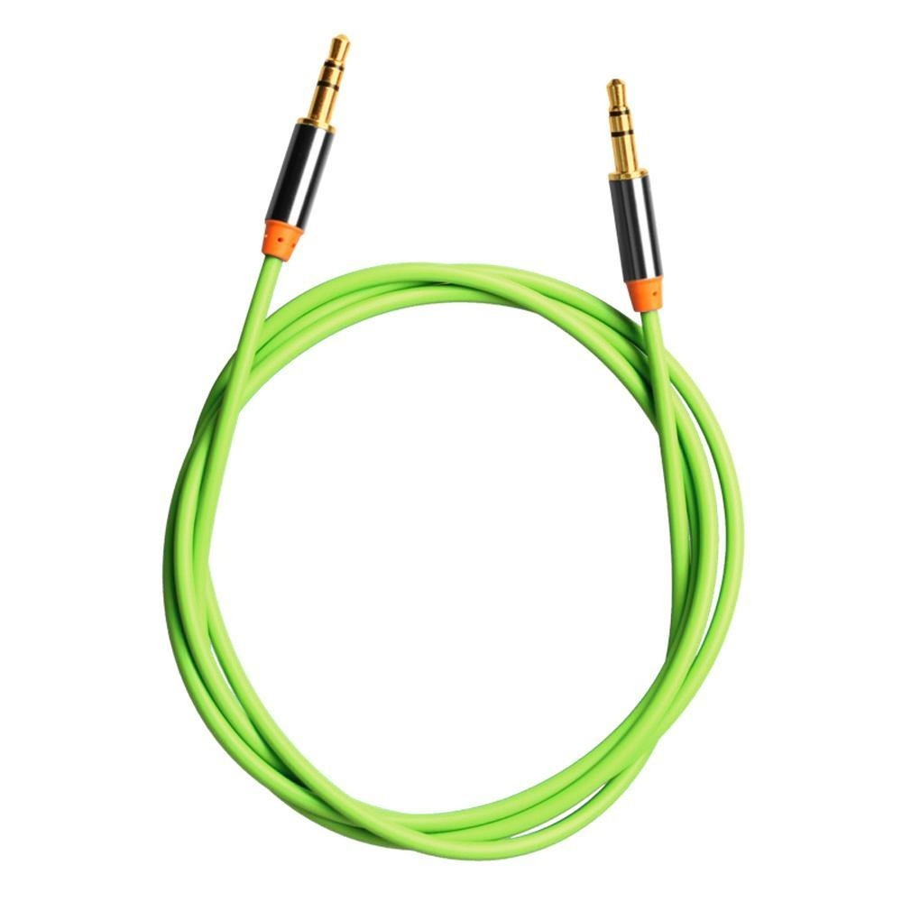 Jaywog 2X3.5mm Pria/Male Stereo Audio Tambahan Kabel Cord Lead untuk IPhone IPod