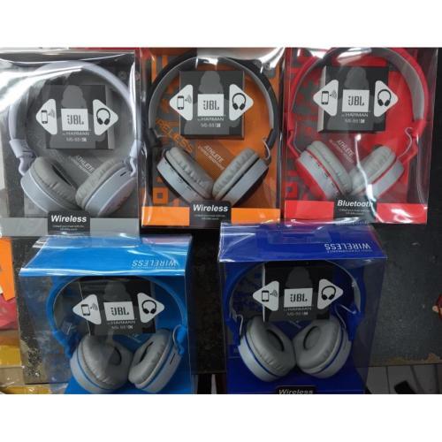 Jbl By Harman Bluetooth Stereo Ms-881 Biru muda
