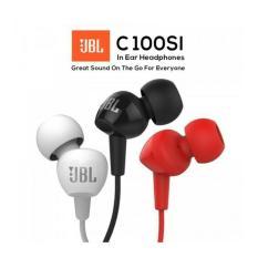 JBL C100SI IMS Wired In-Ear Headphone Original Handsfree with Mic Random