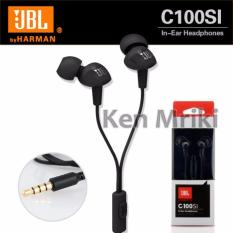 Review Jbl C100Si In Ear Headphones With Mic Compatible With Android Ios Hitam Jbl