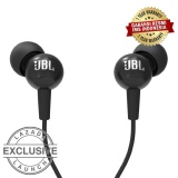 Harga Jbl C100Siin Ear Headphones With Mic Compatible Withandroid Ios Hitam Seken