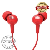 Jual Jbl C100Siin Ear Headphones With Mic Compatible Withandroid Ios Merah Ori