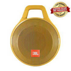 Beli Jbl Clip Splashproof Protable Bluetooth Speaker Kuning Dengan Kartu Kredit