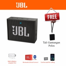 Review Jbl Go Portable Bluetooth Speaker Original Black