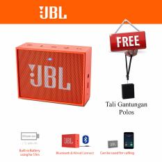 Jual Beli Online Jbl Go Portable Bluetooth Speaker Original Orange
