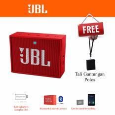 Jual Jbl Go Portable Bluetooth Speaker Original Red Import