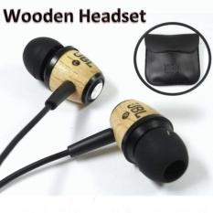 JBL Super Music Headset / Headphones Phones Call M330 Wood