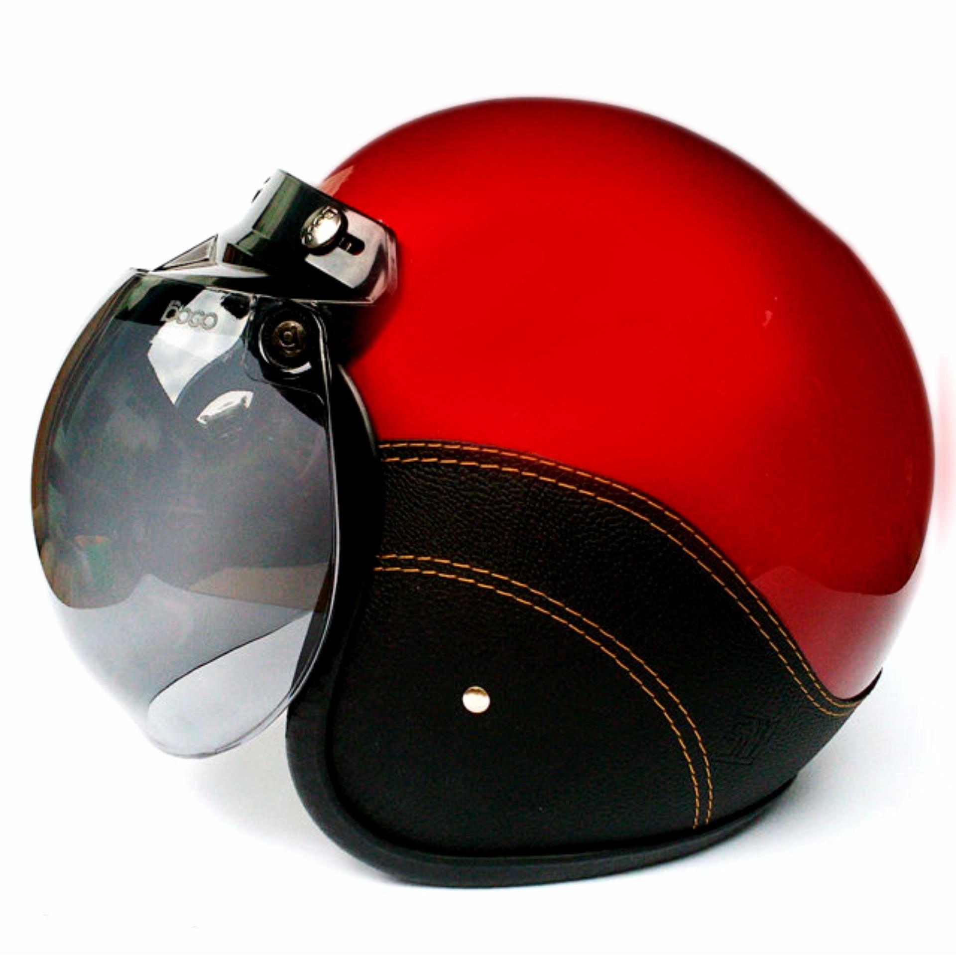 Spesifikasi Jbx Helm Retro Kaca Bogo Style Klasik Jbx Helmets