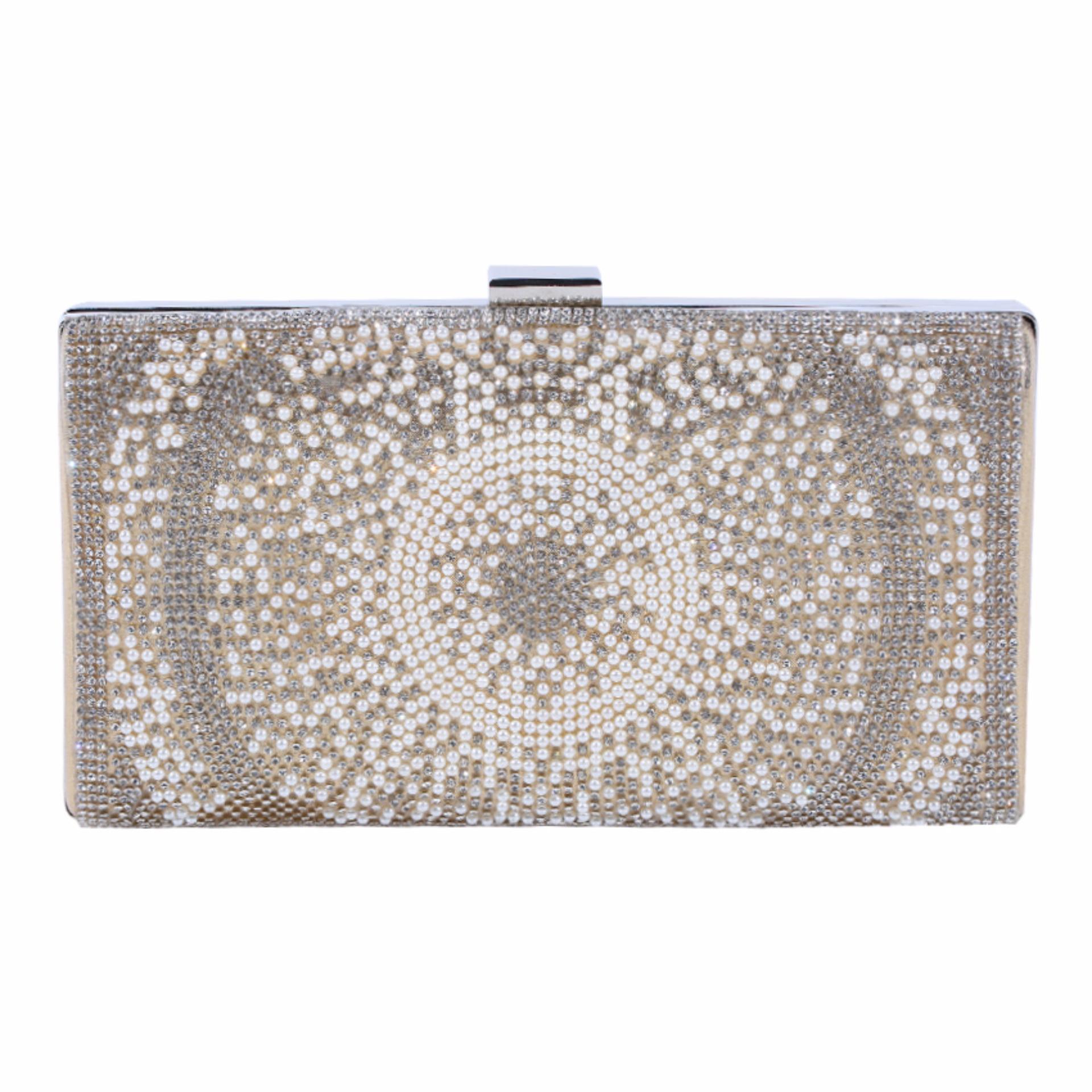 Jual Jcf Tas Fashion Clutch Cantik Pesta Mewah Elegan Berkualitas Import Korean Style High Quality Karen Satu Set