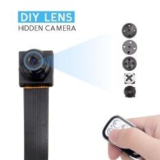 JDM 16 GB HD 1080 P Mini Super Kecil Portable DIY Tersembunyi Spy Kamera Loop Perekaman Video Perekam Video Keamanan DVR dengan Remote Controller-Intl