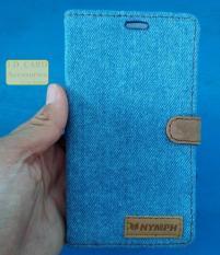 Jeans Flipcover Lenovo A7000 Warna Abu-Abu