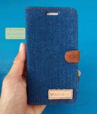 Jeans Flipcover Samsung Prime Warna Biru
