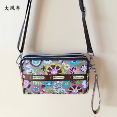 Jepang dan Korea Selatan multifungsi kapasitas besar tas wanita kain Messenger Bag OT571ELAATVVGGAN