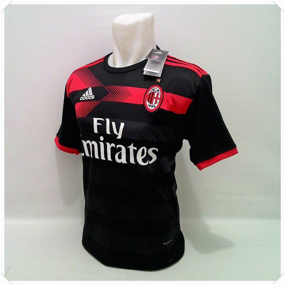 Beli Jersey Bola Kaos T Shirt Bola Ac Milan Milan 3Rd Pake Kartu Kredit