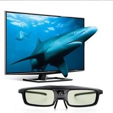 JGmax Ringan Rechargeable Shutter Glasses untuk 3D Dlp-link Proyektor, TV dan HDTV-Acer, BenQ, VIEWSONIC, Optoma, Sharp, Nvdia, Sony, LG, Samsung, Vivitek-Intl