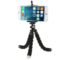 JH@ Flexible Octopus Bubble Tripod Holder Stand Mount for Mobile Phone/ Digital Camera (Black)