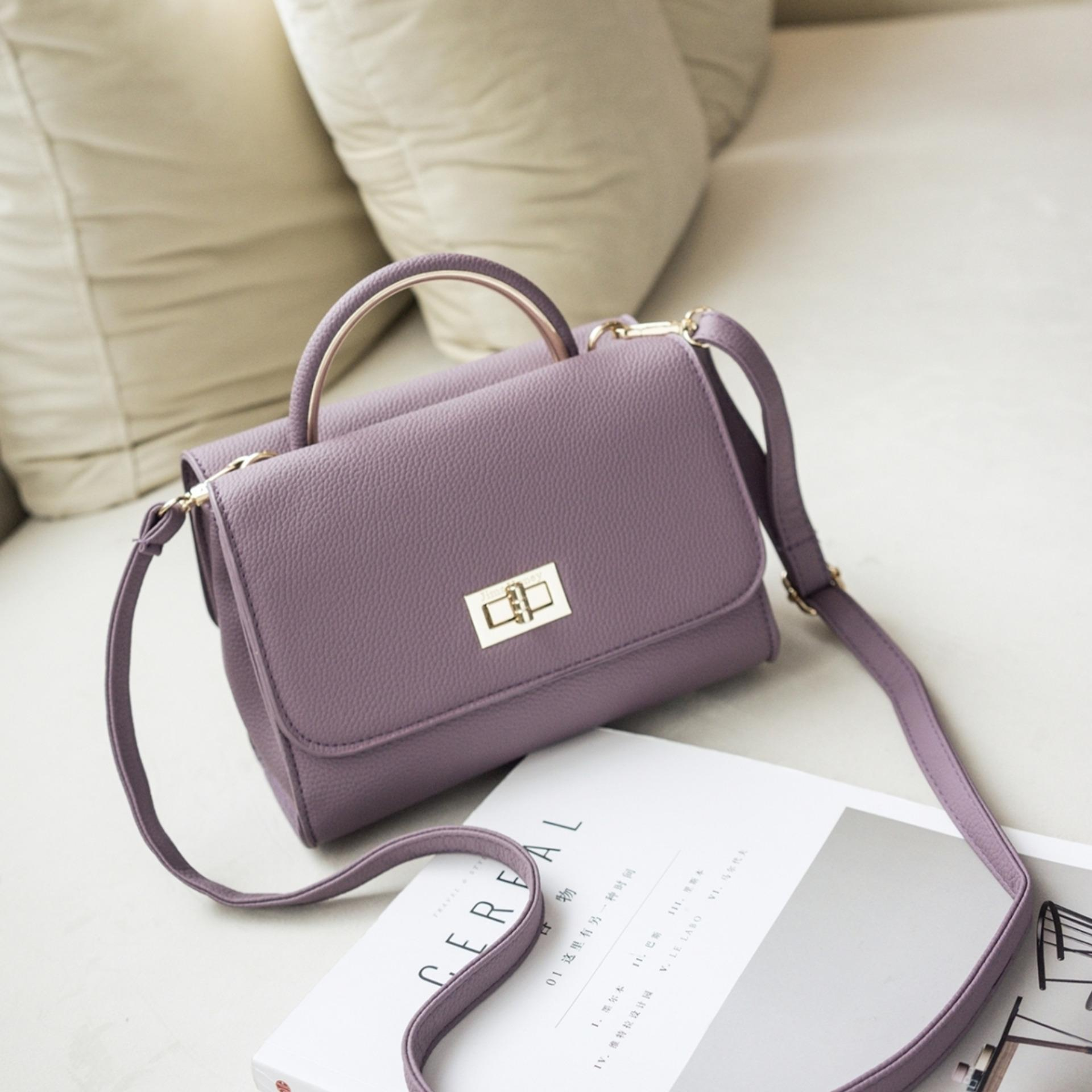 Jual Jims Honey Elegant Top Fashion Lily Bag Purple Online Jawa Barat