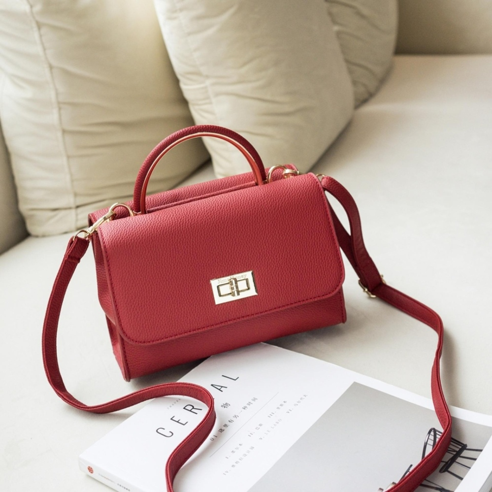 Ulasan Mengenai Jims Honey Elegant Top Fashion Lily Bag Red
