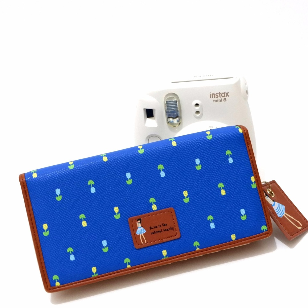 Toko Jims Honey Dompet Fashion Import Dolly Wallet Navy Termurah Di Indonesia