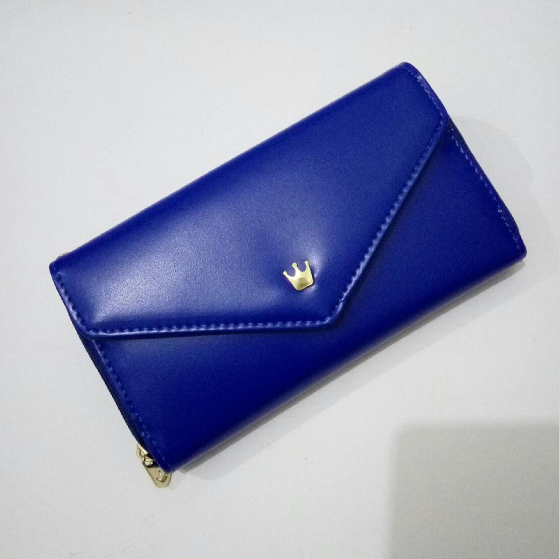 Diskon Besarjims Honey Dompet Fashion Queenie Wallet Navy