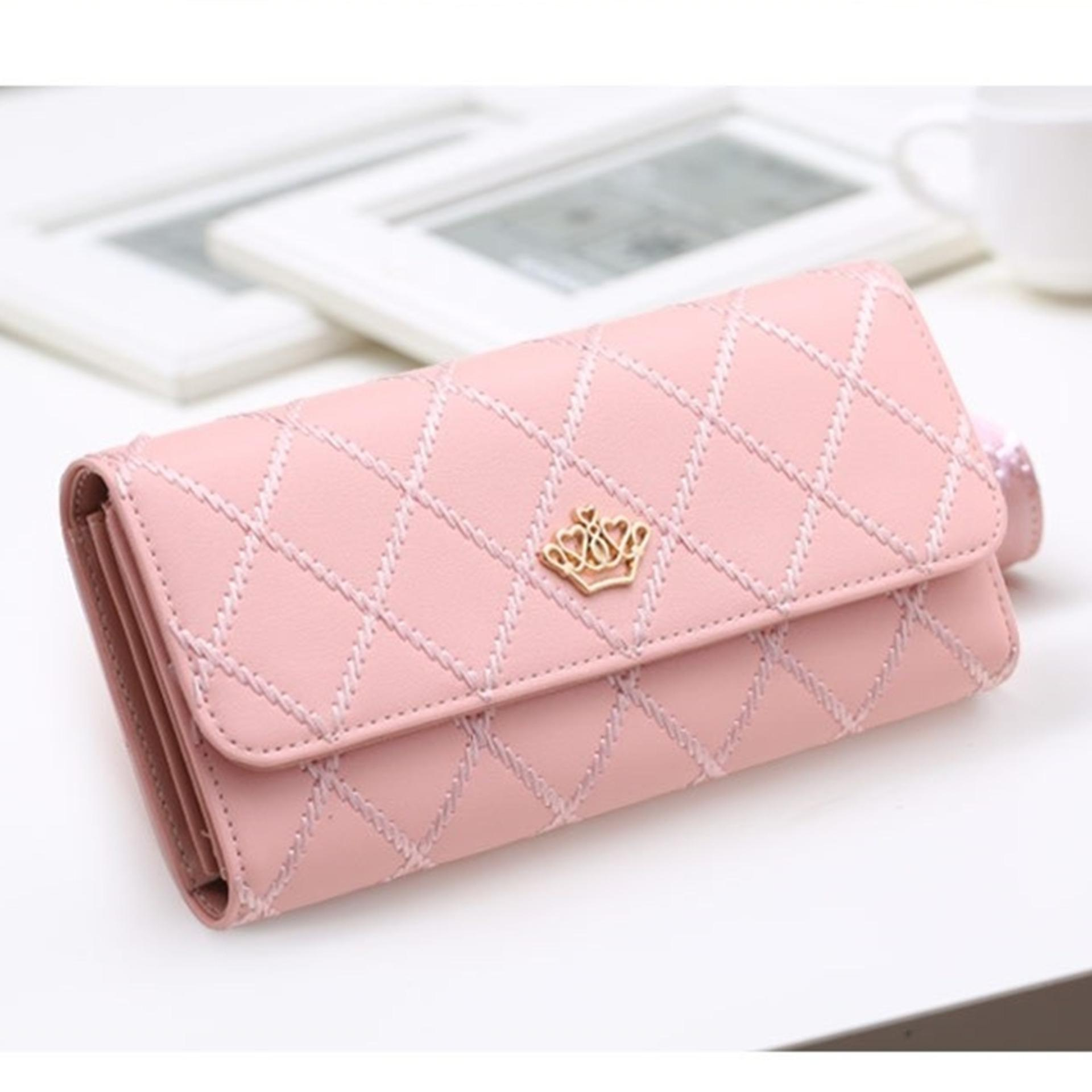 Model Jims Honey Dompet Wanita Jesslyn Wallet Softpink Terbaru