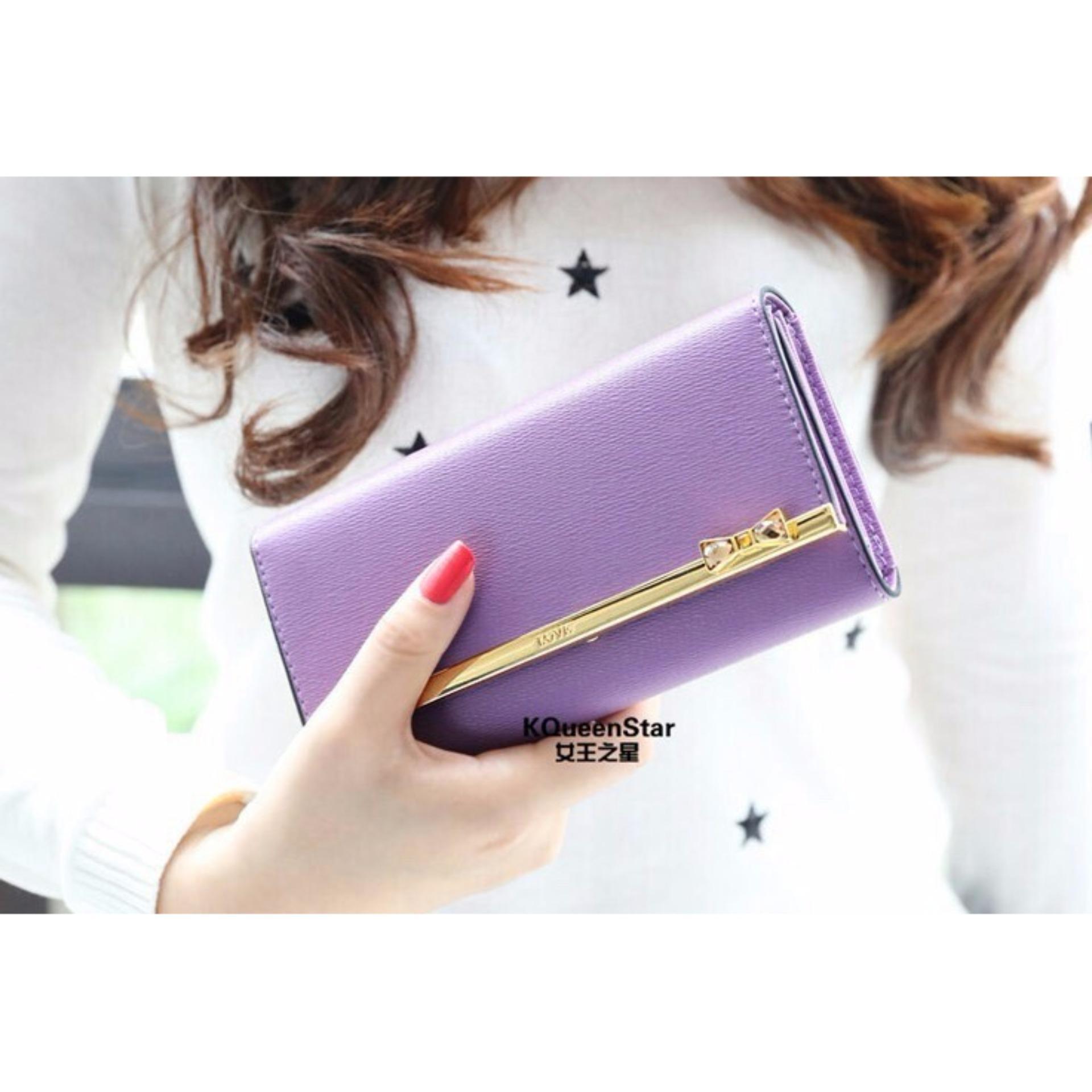 Jims Honey Kqueen wallet purple