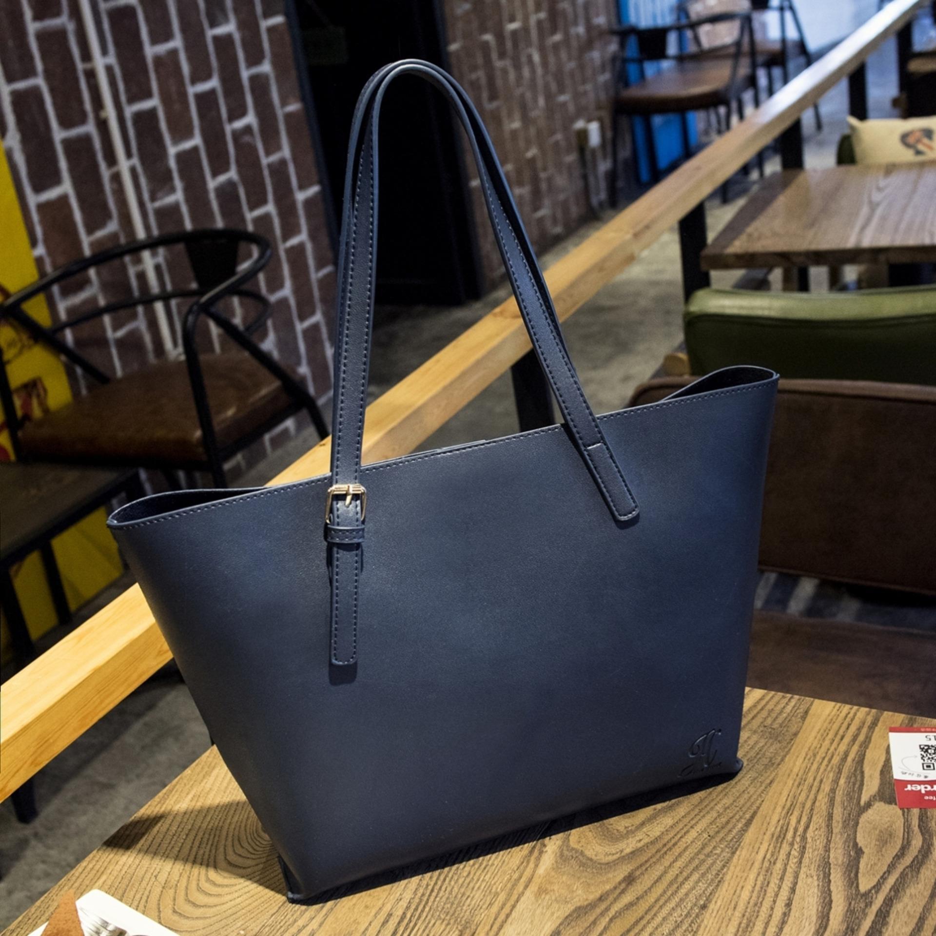 Harga Jims Honey New Tote Bag 2 In 1 Isabella Bag Navy Seken