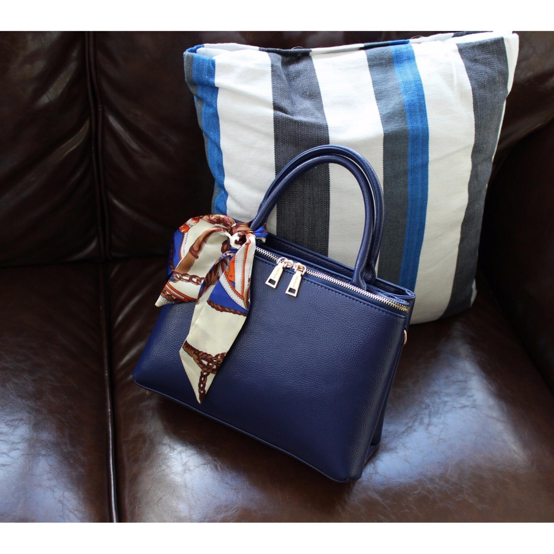 Harga Jimshoney Tas Handbag Wanita Talita Bag Navy Murah